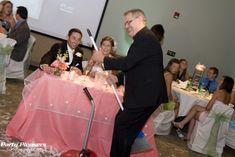 Tim Fritts. DJ, business owner, father, confetti sweeper  Photo Credit- Kim Greer  #CincinnatiWedding #PartyPleasers