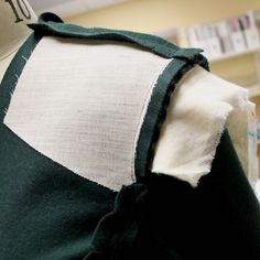How to Use Sleeve Heads and Chest Shields | Gorgeous Fabrics' Blog