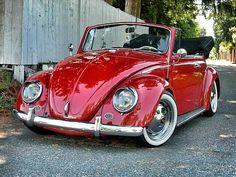 My '65 Vert #GCVWS  #65 #VW #Convertible #Lowered #Volkswagen #bug #beetle