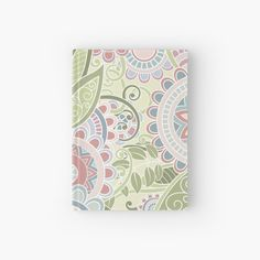 """""""Pastel summer"""" Hardcover Journal by OkopipiDesign Sell Your Art, Floor Pillows, Stationery, Pastel, Journal, Summer, Prints, Design, Cake"""