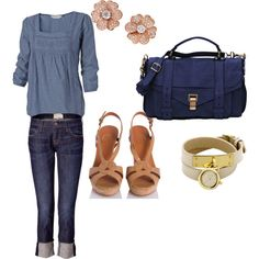 cute every day outift :) created by colleen-tobin on Polyvore