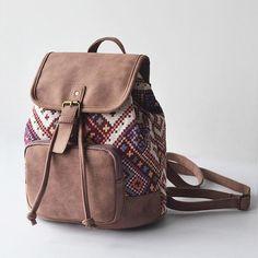 Bohemia Geometric Backpack