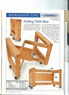 Folding Garage / Work Table : nice space saving idea for sorting table this coul. Folding Garage / Work Table : nice space saving idea for sorting table this could work for a booth