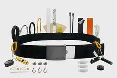 Cache+Belt+Hides+Over+Two+Dozen+Survival+Tools+Inside+Its+Discreet+Pockets More