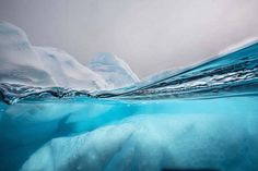 Above and Below a Glacier – Fubiz Media