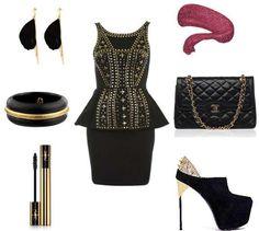 #black #gold #NYE