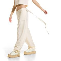 Gathered Ankle Sweatpants