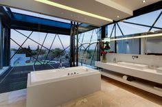 6 spektakuläre Badezimmer