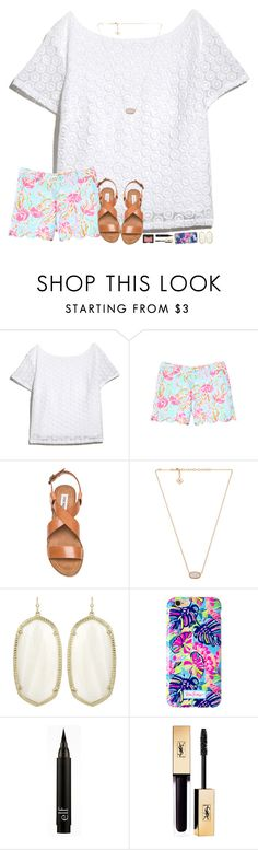 """""""RTD for Lilly updates!"""" by hopemarlee ❤ liked on Polyvore featuring Lilly Pulitzer, Steve Madden, Kendra Scott and NARS Cosmetics"""