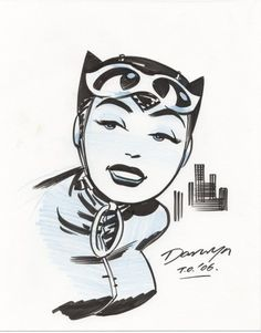 Catwoman by Cooke Comic Art
