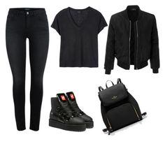 """""""Untitled #274"""" by gabi-gabi1 ❤ liked on Polyvore featuring Deby Debo, Puma and LE3NO"""