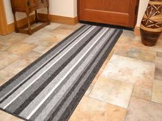 These brown beige non slip machine washable grey rugs are great for kitchens and utility rooms. Machine washable at 30 degrees they are easily cleaned. Gray Runner Rug, Custom Area Rugs, Kitchen Runner, Machine Washable Rugs, Rugs On Carpet, Carpets, Grey Rugs, Brown Beige, Tile Floor