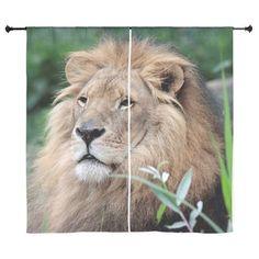 "Sold today: #Lion_010 #Curtains #JAMFoto #Cafepress.com - 60""x60"" - 68.50 $"