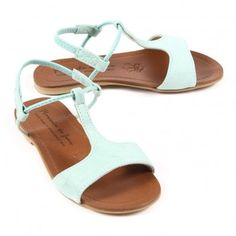 sandales · mykonos · vert d'eau