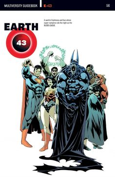 The current DC multiverse part. 3