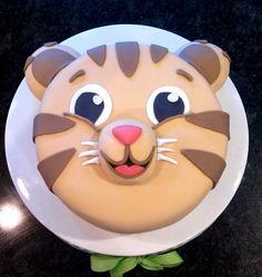 Tiger Cake Daniel Custom Birthday Cake Baby Shower by Devany