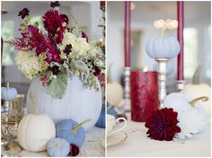 Lisa Price Photography | via The Bride Link | Pocketful of Sunshine Event Design Inspiration: Dusty Blue