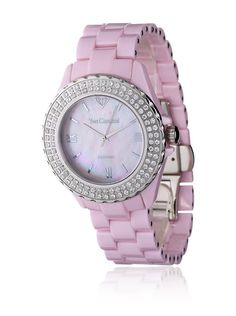 Yves Camani Quarzuhr rosa 39 mm bei Amazon BuyVIP