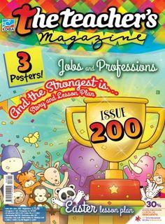 The Teacher's Magazine Nº 200 Teacher Magazine, Free Magazines, Activities, How To Plan, Education, School, Teaching Ideas, Posters, Blue Prints