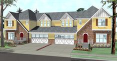 Tudor Multi-Family Plan 41118