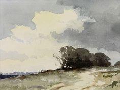 Edward Seago (1910 — 1974, UK) - watercolour.