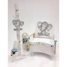 LITTLE ELEPHANT CHAIR Κωδικός προϊόντος: A19-020 Βαπτιστικό κουτί σεζλόνγκ 160€ Λαμπάδα κηροστάτης 95€ Λαδοσέτ 50€ Διαστάσεις 48 × 46 × 65 cm Χρώμα ξύλου Vintage