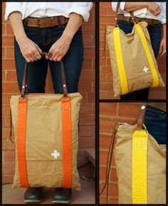 Beautiful bags made from recycled materials