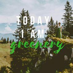Darf ich vorstellen: Greenery, die Trendfarbe 2017. Dirndl in der neuen Farbe gibt es unter: www.dirndlkarinkolb.de