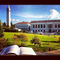 One school that I really would love to learn psychology would be Uc Berkeley. Which this beautiful photo is able to show.