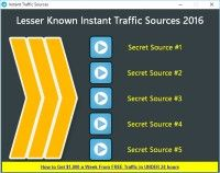 FREE: Lesser Known Instant Traffic Sources