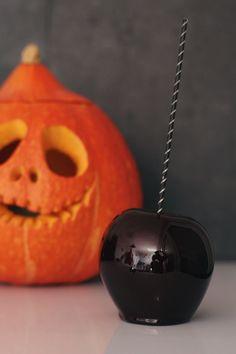 Pommes empoisonnées pour Halloween / Poisoned apples for Halloween / irresistibird.fr