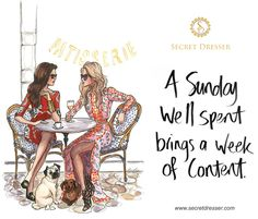 #Sunday Recite You can handle whatever the coming week throws at you. Trust #SecretDresser !!