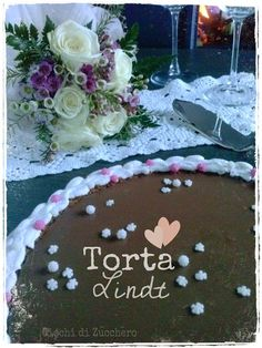 Torta al cioccolato Lindt