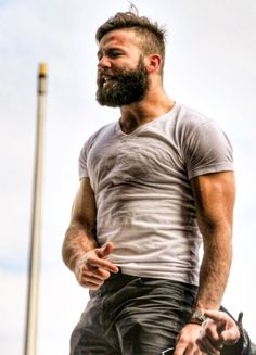 The Bearded Individual:  another immense moment in masculine perfection!