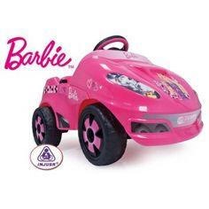 Coche eléctrico barbie en http://www.tuverano.com/coches-electricos-infantiles/437-coche-electrico-barbie.html
