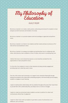 My Philosophy of Education educationphilosophy 820710732079834099 Teacher Interview Questions, Teacher Interviews, Teaching Resume, Student Teaching, College Teaching, Elementary Teaching, Teaching Strategies, Teaching Tips, Teaching Outfits