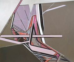 Frank Nitsche     DDS-02-2004  2004  Oil on canvas  260 x 310 cm via Max Helzer Gallery