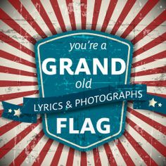 #4thofjuly -  You're a Grand Old Flag: A Patriotic Book based on the Classic Song (4th of July Favorites for all ages) / http://www.holidaygoodness.com/youre-a-grand-old-flag-a-patriotic-book-based-on-the-classic-song-4th-of-july-favorites-for-all-ages-2/