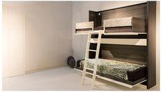 @boone.be #Bunkbed #darkwood #bedroom