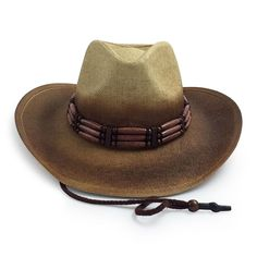 19c91a0746f Cowboy Cowgirl Hat Drifter Outback Style Rodeo Western One Size Down Under  Conch
