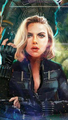 Avengers: Infinity War ~ Black Widow – Picture World Marvel Dc Comics, Marvel Avengers, Marvel Women, Marvel Girls, Marvel Fan, Marvel Heroes, Captain Marvel, Captain America, Black Widow Avengers