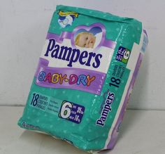 472 best vintage baby diapers and supplies images on pinterest disposable diapers diapers and - Couche pampers premature ...