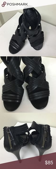 ♦️TORY BURCH HEELS♦️ Gorgeous open toe sexy heels ... Pre ❤️ in excellent condition , Tory Burch Shoes Heels