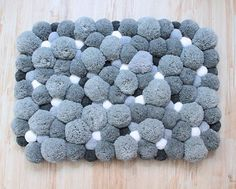 Pom Pom Rugs  Bedroom Pompom Rugs  Living Room by PomPomMyWorld