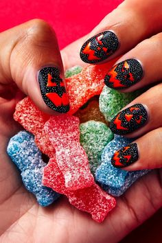 Each shade was inspired by your favorite flavors. Hansen Is, Sally Hansen, Halloween Looks, Halloween Nail Art, Kids Nail Polish, Sour Patch Kids, Nails For Kids, Fall Nail Art, Nail Polish Collection