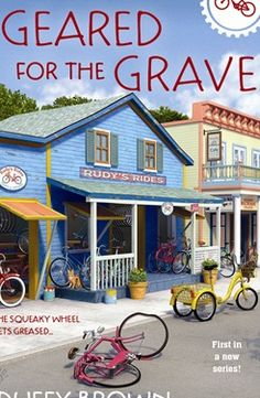 "Duffy Brown - cozy mysteries - New book ""Geared for the Grave will be released December 2014!"