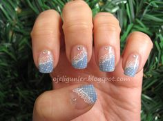 Lace - Nail Art Gallery by NAILS Magazine