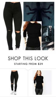 """""""Untitled #600"""" by carolinedarcy ❤ liked on Polyvore featuring ASOS"""