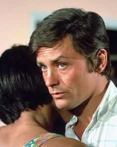 Alain Delon, French-Swiss actor, b. 1935