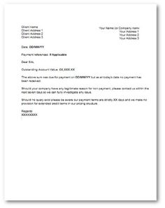 Friendly Payment Reminder Letter  Invoice Reminder Template